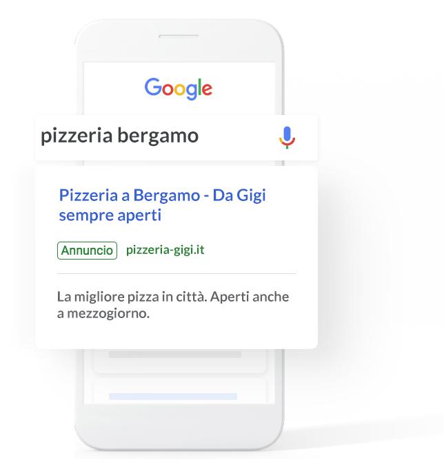 Agenzia e consulente campagna Google Ads a Bergamo